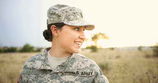 Military Woman